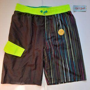 Cat & Jack Boy's Lined Swim Shorts Side Pocket